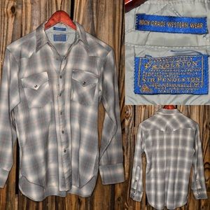 Vintage Pendleton pearl snap shirt